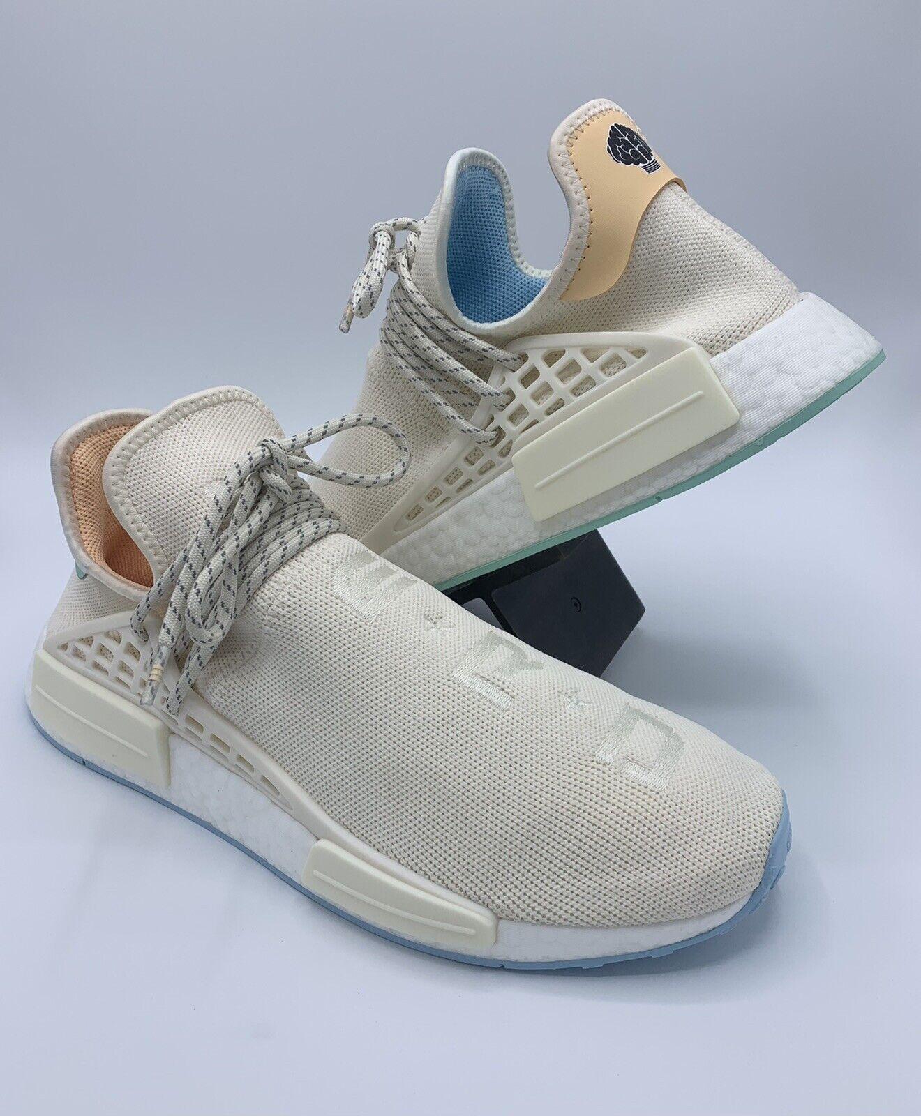 Adidas x Pharrell Williams HU NMD N.E.R.D Men's Size 12 Chalk White GW0246