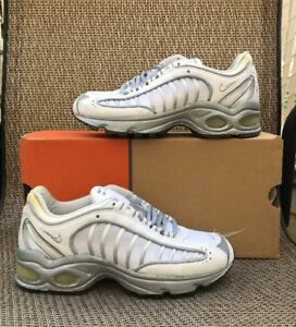 Details about Vintage Air Max Tailwind 4 Boys GS Whitemetallic silver 609022 101 4.5Y
