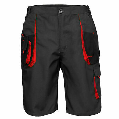 Mens Cargo Pro Work Shorts Multi Pockets Waist 28-42 FAST UK DELIVERY