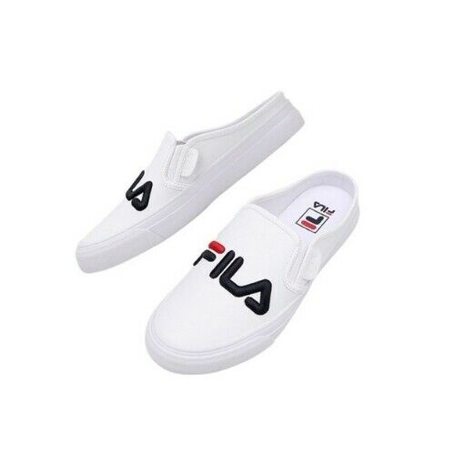 FS1SIB1130X White New FILA Men/'s Classic Kicks Mule Disruptor Shoes Sneakers
