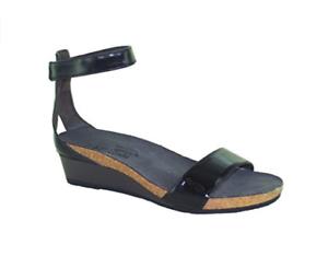 Naot Pixie Mujer Zapatos Sandalias De Cuero Tacón De Plataforma Nueva Correa Con Tiras Puntera Abierta