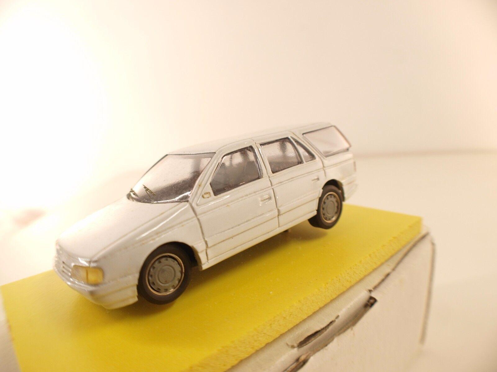 Heco Modeles F Peugeot 405 405 405 break kit résine en boite monté 1 43 e461c4