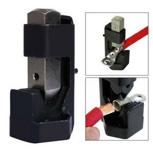 Battery Cable Hammer Crimper Wire Terminal Welding Lug Crimping Tool Metal #/& /<.