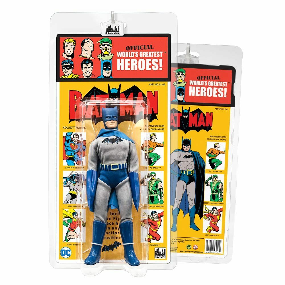DC Comics Retro Kresge Style Action Figures Figures Figures Series 4  FA Batman by FTC 51819b