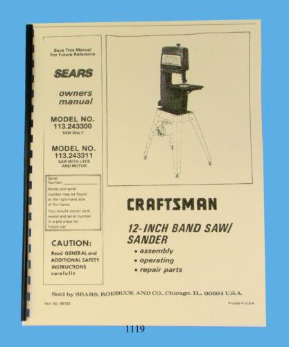 CNC, Metalworking & Manufacturing Sears Craftsman 12