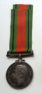 The Defence Medal 6 Inches of Genuine WW2 Medal Ribbon