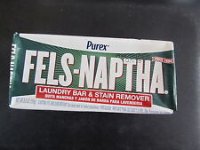 Fels Naptha Laundry Soap:  1 Bar  #04303   NEW