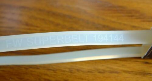 MOTOR BELT SINGER FEATHERWEIGHT 221-221K-222K /' SUPER BELT /'  WHITE