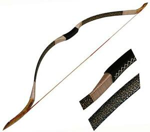 NEW Archery Traditional Hunting Recurve Bow Longbow Handmade Horsebow Shooting