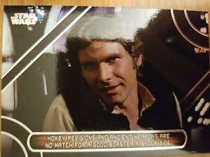 2017 Star Wars Galactic Files Reborn Mq 8 Han Solo Famous Quotes Ebay