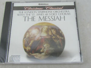 New The Messiah London Symphony Orchestra St James 48 Voice Chorale (CD 2006)