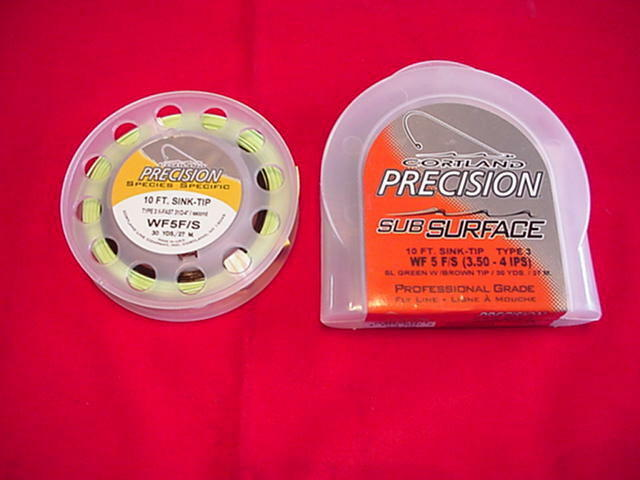 Cortland Fly Line Precision 10 Ft Sink Tip GREAT NEW