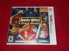 ANGRY BIRDS STAR WARS 3DS FACTORY SEALED FAST FREE SHIPPING!!! C@@L!!! L@@K!!!