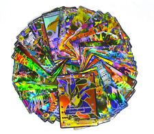 Pokemon TCG : 50 CARD LOT RARE, COM/UNC, HOLO & GUARANTEED EX, MEGA OR FULL ART.