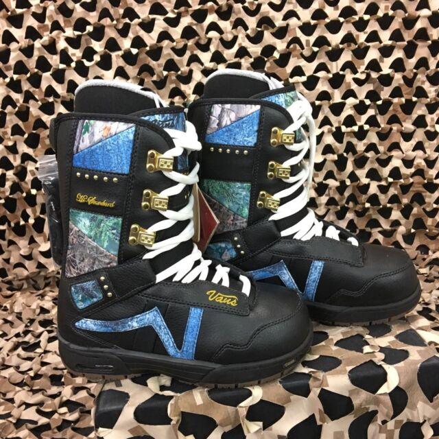 New  Vans Hi-Standard Black Nature Snowboard Boots - Women s Size 6 301dcb7d3