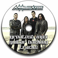 36 ANNIHILATOR HEAVY METAL THRASH ESTILO ROCK GUITARRA MP3 FORRO CANCIONES CD