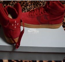 more photos ea33f 6a08e item 3  806403 601  NEW MEN S NIKE AIR FORCE 1 HIGH  07 LV8 GYM RED GUM  BOTTOM UP410 - 806403 601  NEW MEN S NIKE AIR FORCE 1 HIGH  07 LV8 GYM RED  GUM ...