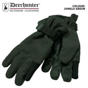 Deerhunter Kamchatka Gloves Waterproof Green Hunting Shooting Fishing