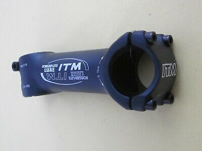 "ITM Forged Lite Luxe Road//Mountain Bike Stem 1-1//8/"" //// 31.8 x 110mm"