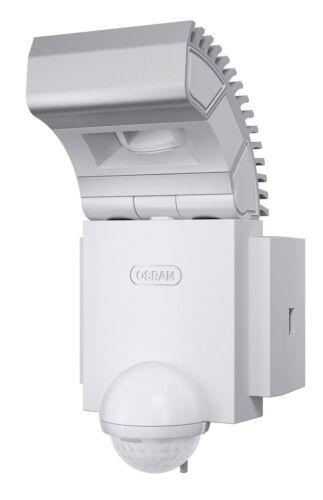 + Lampada OSRAM 41038 Noxlite ® Outdoor Single LED Lampada da Parete Sensore Alluminio 8w WHITE A