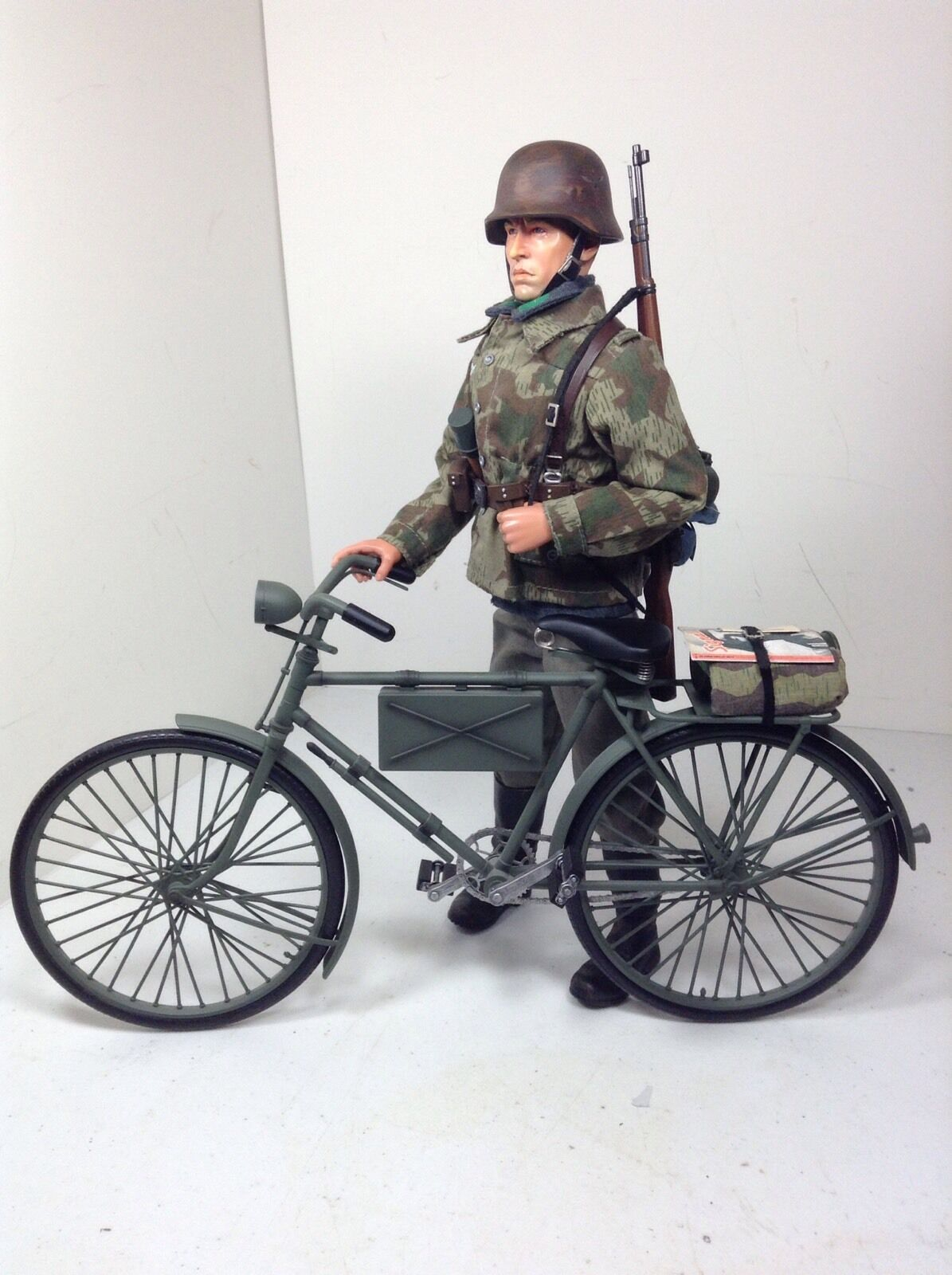 16 Dragon German Luftwaffe Ground Div Bicicleta Hombre De Infantería Bbi Did Xxi Ww2