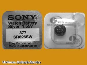 20-x-SONY-377-V377-celula-de-boton-SR626SW-silber-oxid-AG4-1-55V-baterias-reloj