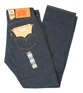 LEVIS-SHRINK-TO-FIT-501-JEANS-BUTTON-FLY-STRAIGHT-LEG-RIGID-BLUE-0000