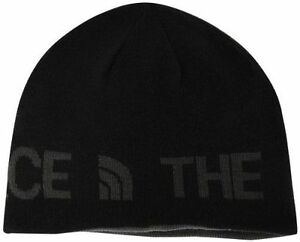 12b66322f14d2 Image is loading The-North-Face-Reversible-TNF-Banner-Beanie-Tnf-