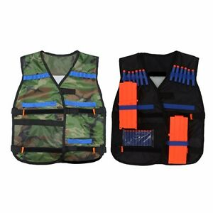 Elover Kids Tactical Vest Kit for Nerf Toys Guns N-Strike Elite Series ( Tactical