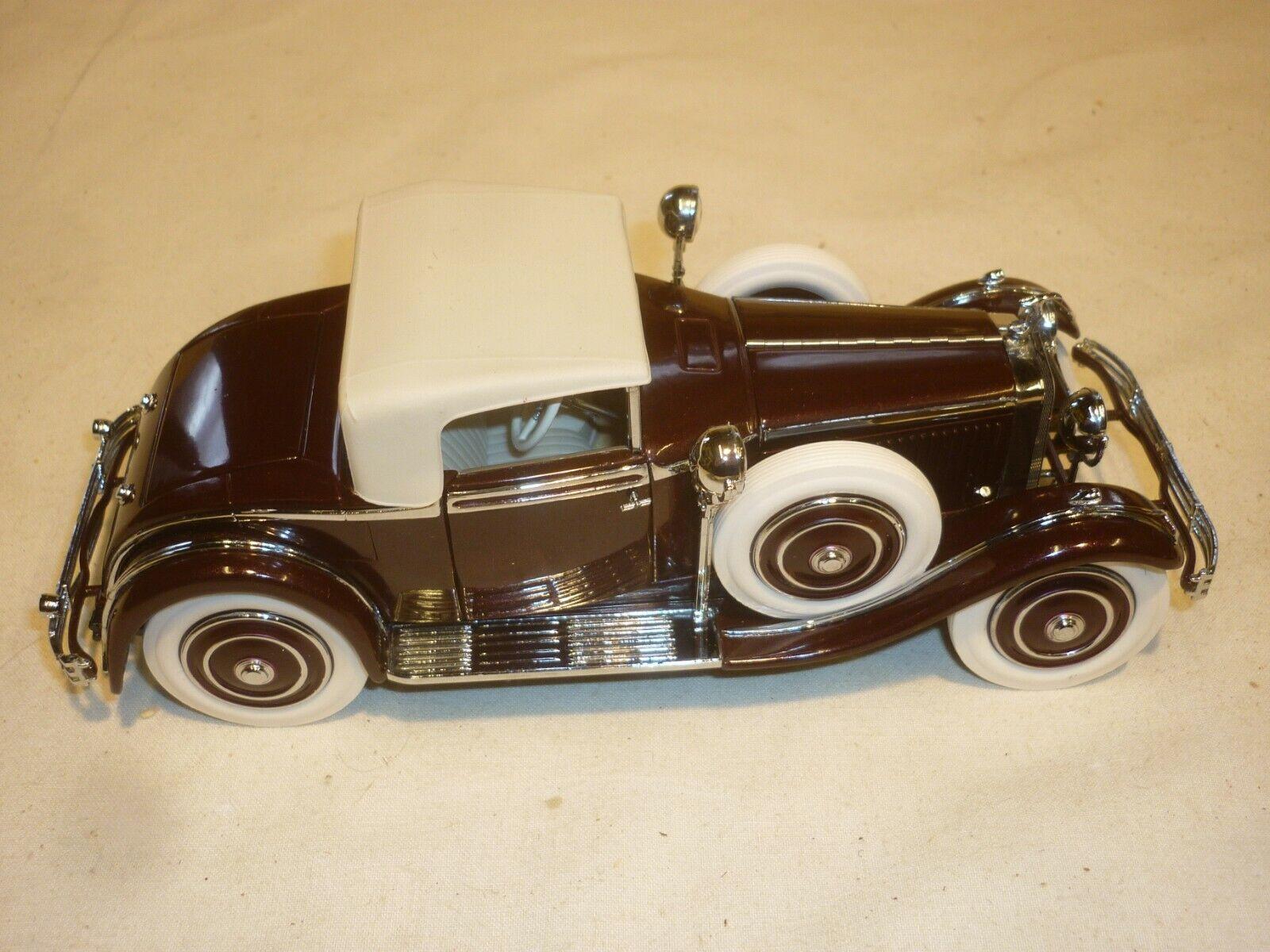 A Franklin mint scale model of a 1925 Hispano Suiza H6B Kellner, no box
