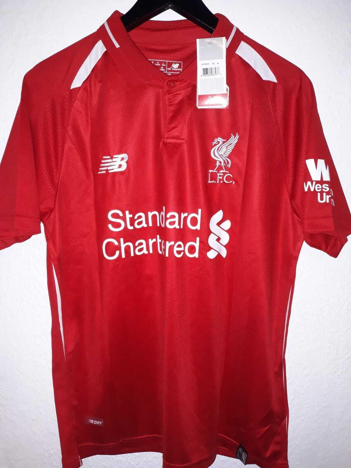 FC Liverpool Heim Trikot Gr. M Salah 11 New New New Balance cd7f80