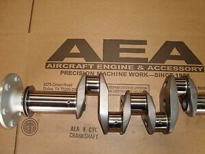 Lycoming O-320 Crankshaft for Airboat Use Reviews & Details