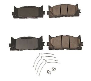 For 06-16 Camry 07-15 Avalon 05-16 ES350 Front Ceramic Disc Brake Pad New