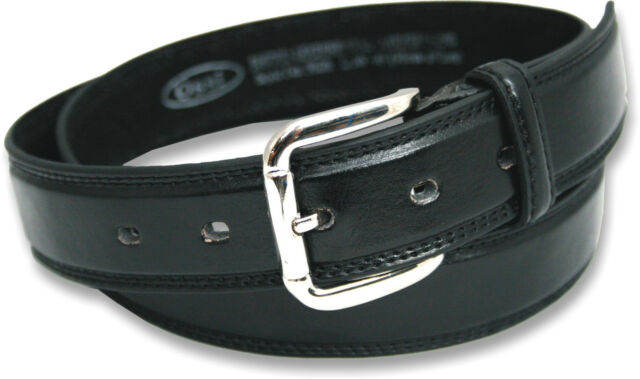 NEW MENS BLACK BONDED LEATHER BELT 5026 XL SIZES 48-60