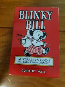 2011-AUSTRALIA-BABY-PROOF-COIN-SET-BLINKY-BILL-RAM-ISSUE-SOLD-OUT-amp-SCARCE