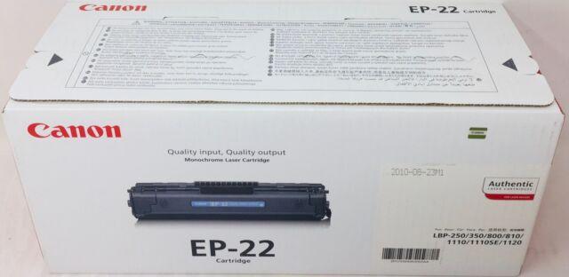 Canon 1550A003 EP-22 Toner Original LBP-250/350/800/ 810/ 1110/ 1110SE/1120