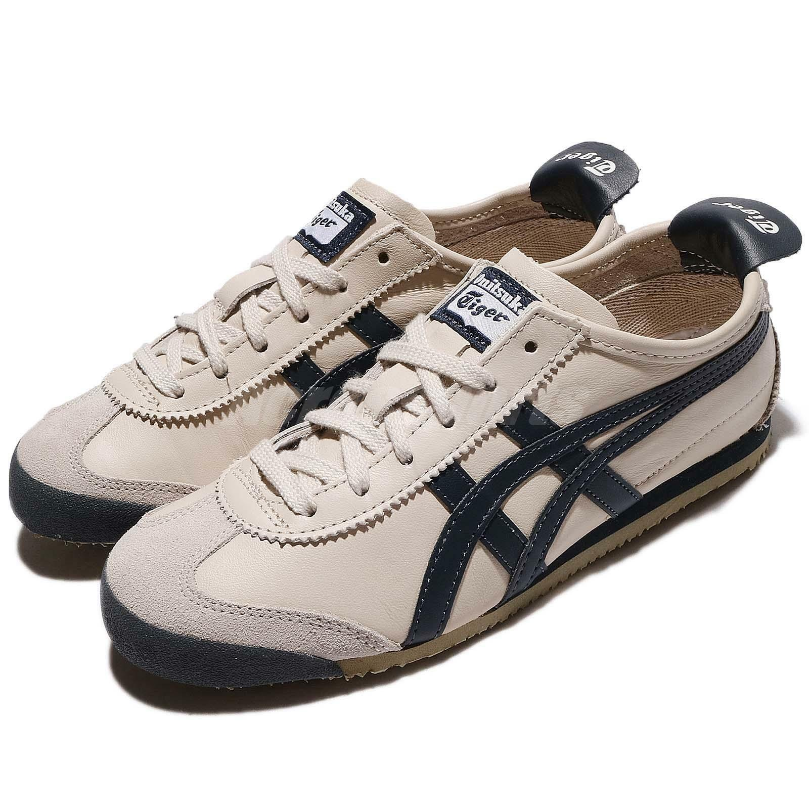 Asics Mexico Onitsuka Tiger 66 Birch India Ink Latte Men Shoe Sneaker DL408-1659