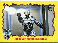 Topps 75th Anniversary Base Card 95 Robocop II