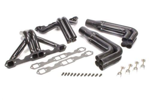Schoenfeld Headers 162-98 Chevy IMCA Modified Adjustable Headers Painted Steel S