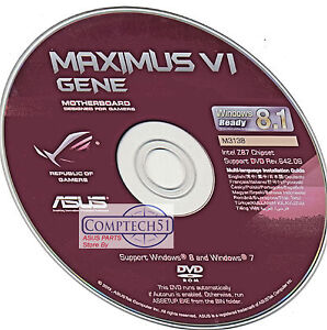 Asus Maximus IV GENE-Z WebStorage Drivers for Windows XP
