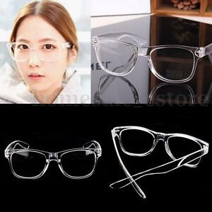 Image is loading Fashion-Eyeglass-Frame-Vintage-Transparent-Glasses-Retro-UV - d2918e4eb7