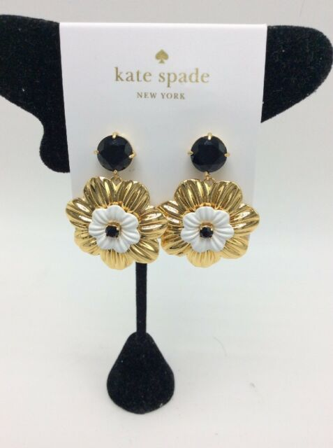 63290aa75e8c7 Kate Spade Posy Grove Crystal & Flower Drop Earrings Ks29 for sale ...