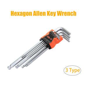 Metric-Allen-Key-Set-Hexagon-Hex-Torx-Ball-End-Wrench-9-Piece-Tools-1-5-10mm