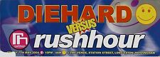 (RAVE FLYER 2004) DIEHARD v RUSHHOUR @ NOTTINGHAM - dj seduction.dj sy