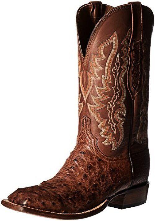 Lucchese Classics Para hombre Garrett-Bwd Pin Tn Burn Rancho Bota de montar a caballo 11