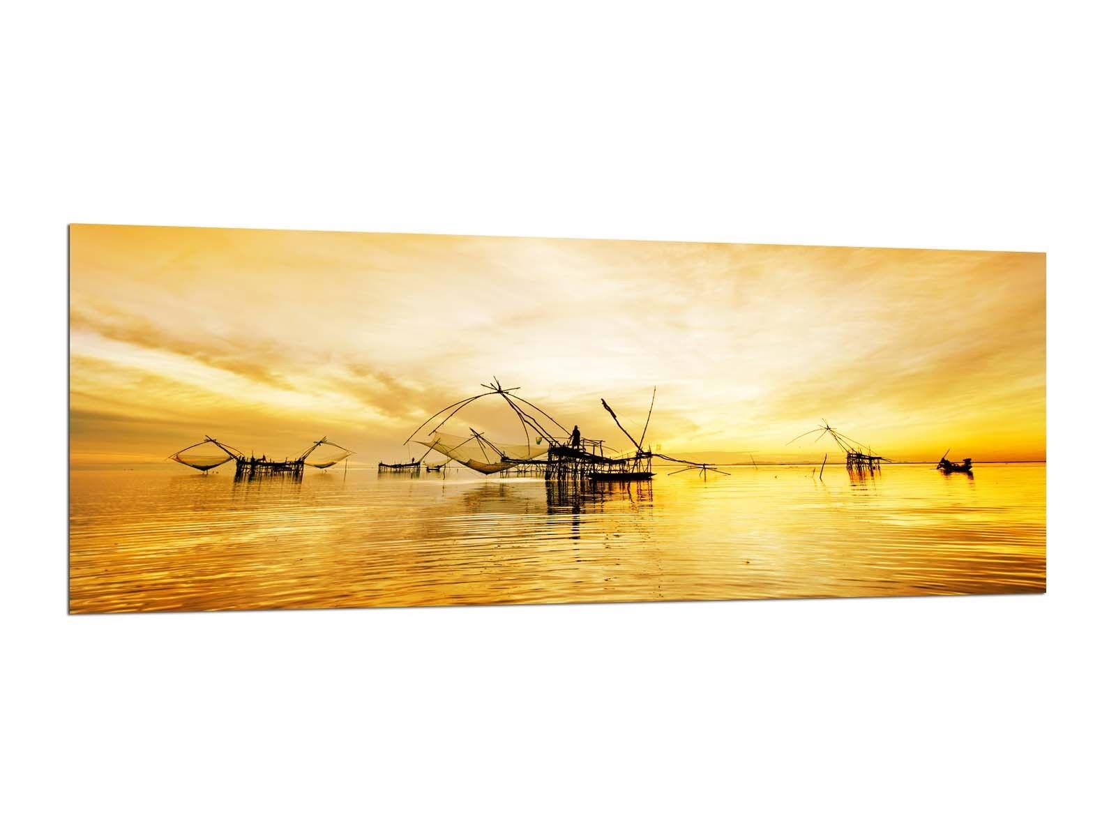 Photos de peintures murales 125 x 50 cm pêcheurs Vietnam ag312502469