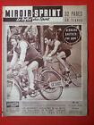 04/06/1956 miroir sprint n°521 CYCLISME BORDEAUX PARIS GAUTHIER ROBIC RENNES