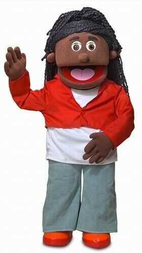 Silly Puppets Sierra (African American) 30 inch Professional Puppet