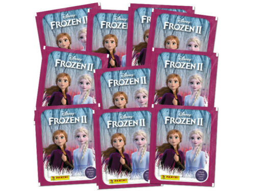 Panini Frozen 2 Save The Kingdom Stickers /& Cards Collection 10 packs 2019