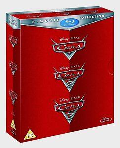 Coleccion-De-Pelicula-Cars-1-3-Blu-Ray-Caja-Complete-Trilogia-Disney-Pixar-1-2-3